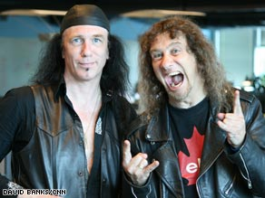 "In ""Anvil! The Story of Anvil,"" the band makes a new album and plays shows in Europe and Japan."