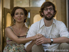 "Maya Rudolph and John Krasinski star as a couple on the road in the comedy ""Away We Go."""