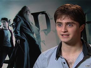 You asked Daniel Radcliffe which literary characters he draws on for his portrayal of Harry Potter.