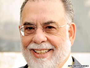 "Coppola in the greenery of his Napa Valley wine estate: ""I'm sitting here in paradise ready to write something new."""