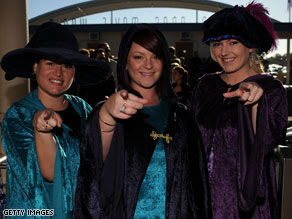 "Actors are seen at the latest ""Harry Potter"" premiere on Sunday on the Gold Coast of Australia."