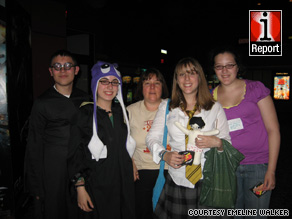"""Serenity"" fans gather at a 2008 charity screening of the cult sci-fi movie in Memphis, Tennessee."