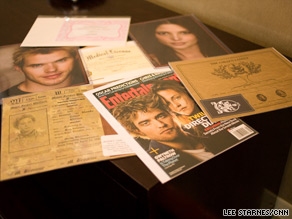 "Fans bought ""Twilight"" birth certificates, cast head shots and spoofed magazine covers at Atlanta's TwiTour."