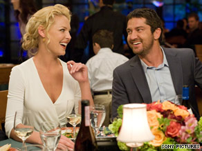 "Katherine Heigl plays the sophisticated female boss of Gerard Butler in ""The Ugly Truth."""