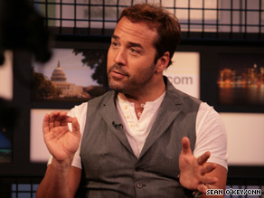 "Jeremy Piven stars as a used car salesman in ""The Goods."" He says ""Entourage"" would make a great film."