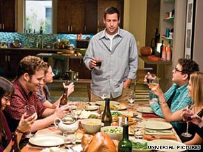 "Adam Sandler and Seth Rogen star in ""Funny People,"" which took the No. 1 slot at the box office this weekend."