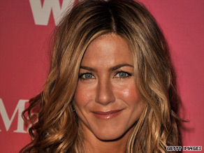 Jennifer Aniston poked fun at her love life at an awards event this year.