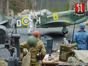 Devoted G.I. Joe collector Mike Gardner has created many elaborate dioramas like this one.