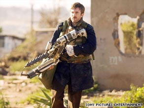 """Sharlto Copley plays a bureaucrat forced into action in """"District 9,"""" a film about extraterrestrials."""