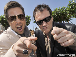 """Brad Pitt and Quentin Tarantino have always wanted to work together but couldn't find the right project before """"Inglourious Basterds."""""""