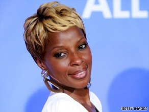 """I know I'm definitely gonna pursue this as a profession, acting,"" Mary J. Blige said."