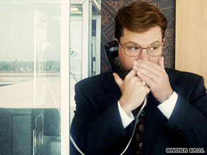 "Matt Damon, as a corporate turncoat, offers up secrets in ""The Informant!"""