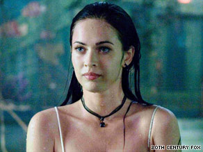 "Megan Fox plays a demonic cheerleader in ""Jennifer's Body,"" written by Diablo ""Juno"" Cody."