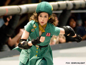 ellen page plays roller derby competitor babe ruthless in whip