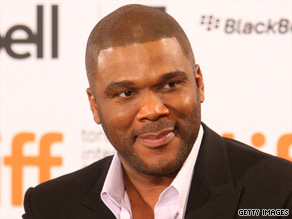 """I'm tired of holding this in,"" Tyler Perry wrote on his Web site, ""... so I've decided to give some away."""