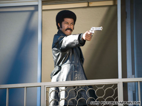 Michael Jai White stars in the new spoof &quot;Black Dynamite.&quot;