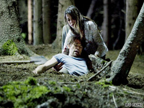 "Charlotte Gainsbourg and Willem Dafoe star in the Lars von Trier drama ""Antichrist."""