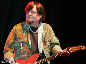 Ron Asheton helped form The Stooges in 1967 with his brother Scott and Iggy Pop.