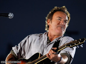 Bruce Springsteen's new album with the E Street Band is more upbeat than previous efforts.