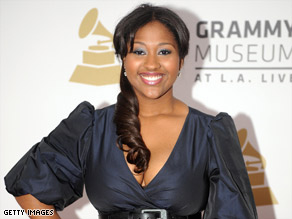 Jazmine Sullivan is up for five Grammys next month, including best new artist.