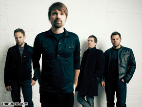 "Third Day has earned praise from mainstream publications but is still pigeonholed as ""Christian rock."""