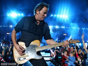 Bruce Springsteen expressed strong reservations about a possible Ticketmaster-Live Nation merger.