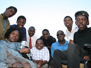 The Liyana band members met at the King George VI school for disabled children in Bulawayo, Zimbabwe.