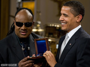 President Obama says if it wasn&#039;t for Stevie Wonder&#039;s music, he and the first lady may not have dated.