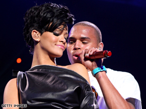 A music producer says Rihanna recorded a duet with Chris Brown, who is accused of assaulting her.