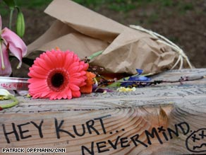 Kurt Cobain remembered 15 years after his death