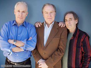 """The trio played the Folksmen, a Kingston Trio-like group, in 2003's """"A Mighty Wind."""""""