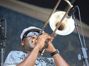 The New Orleans jazz fest has been an annual tradition for more than 40 years.