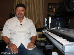 Musician Art Neville relaxes in his longtime home on Valence Street in New Orleans, Louisiana.