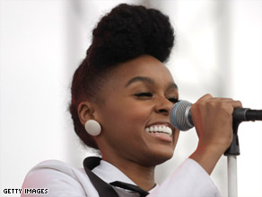 "Janelle Monae creates ""cool, futuristic soul with a real '80s quality,"" says a DJ."