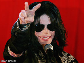 Michael Jackson, music legend, died today at the age of 50