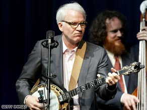 Steve Martin has been playing the banjo for decades. His new album is a collection of bluegrass tunes.
