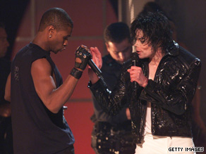 Michael Jackson and Usher