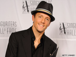 "Jason Mraz was recently honored with a songwriting award for his work, which includes the hit ""I'm Yours."""