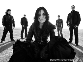 "Former ""American Idol"" contestant Carly Smithson is the lead singer of the new band We Are The Fallen."