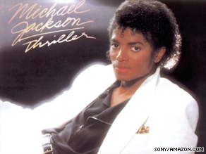"""Fans have flocked online to buy music by Michael Jackson, including the album """"Thriller."""""""