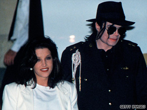 Michael Jackson and Lisa Marie Presley in 1994. Presley says, &quot;I loved him very much&quot; and believes he loved her.