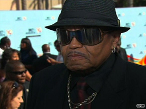 Joe Jackson, father of Michael Jackson, attends the BET Awards on Sunday in Los Angeles, California.