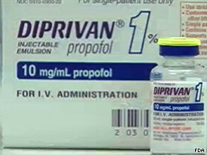 Propofol induces a coma, not sleep, an anesthesiologist told CNN.