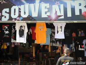 "Official merchandise from Michael Jackson's ""This Is It"" tour is for sale, according to the shows' promoter."