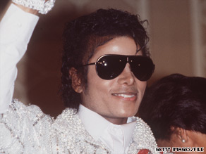 Michael Jackson, shown here in the mid-'80s, was involved in a accident while filming a commercial.