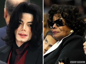 Michael Jackson's mom seeks control of estate