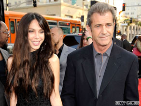 Oksana Grigorieva and Mel Gibson are expecting a child this year.