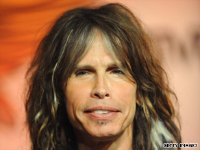 "Aerosmith lead singer Steven Tyler fell off stage August 5 while dancing to ""Love in an Elevator."""