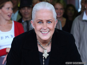 Grace Slick, seen here being inducted into L.A.'s Rockwalk in 2002, is now devoted to painting.