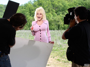 Dolly Parton has no plans to step out of the spotlight: &quot; I hope to just fall over one day in the middle of a song.&quot;